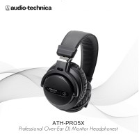 AudioTechnica ATH-PRO5X BK Professional Over-Ear DJ Monitor Headphones
