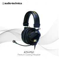 "Audio Technica ATH-PG1 Closed-Back Premium Gaming Headset with 6"" Boom"