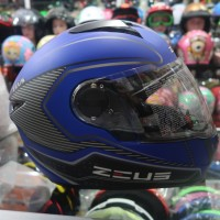 Helm Full Face Zeus 811 AL 17 Yamaha Blue bk