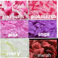 rose petals 1000pcs kelopak bunga mawar palsu/