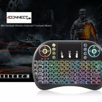 i8 Air Mouse Wireless Mini Keyboard with TouchPad Colour Backlight