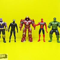 Action Figure Avengers Infinity War (set 5 Hulkbuster)