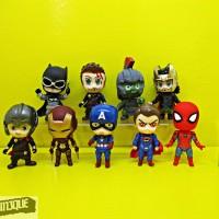 Action Figure Avengers Infinity War chibi isi 9