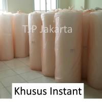 Plastik Bubble Wrap 125 cm x 50 m bungkus oren