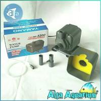 Pompa Air WP 5200 YAMANO Celup Filter Aquarium Kolam Ikan Busa WP5200