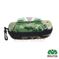 Box tempat case Kacamata glasses camo loreng army molle militer