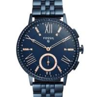 Jam tangan Fossil Hybrid Smartwatch Navy Blue