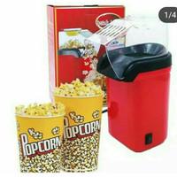 Mesin popcorn maker pembuat popcorn mini portable free oil
