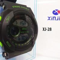 New Jam Tangan digital pria waterproof 50m - XINJIA