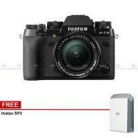 Harga promo pwp fujifilm x t2 kit 18 55mm fujinon lens xf10 | Pembandingharga.com