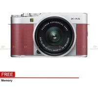 Harga fujifilm x a5 mirrorless digital camera with 15 45mm lens pink | Pembandingharga.com