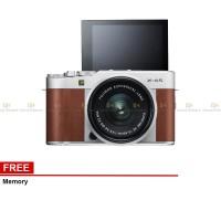 Harga fujifilm x a5 mirrorless digital camera with 15 45mm lens brown | Pembandingharga.com