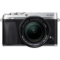 Harga fujifilm x e3 mirrorless digital camera with 18 55mm lens silver | Pembandingharga.com
