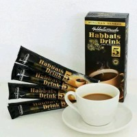 Habbats Cafe 5 in 1 Habbatussaudah Drink Plus Kopi Arab Tanpa Cafein