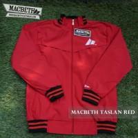 JACKET MACBETH TASLAN RED