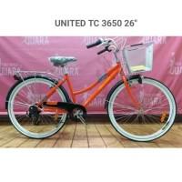 Sepeda citybike united tc 3650 orange ctb 26