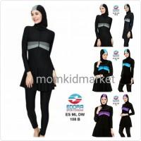 SALE STOCK PM Grosir Baju Renang Muslim Muslimah Wanita Dewasa ES ML