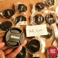 lenscap tutup lensa depan nikon diameter 52mm untuk lensa kit fix