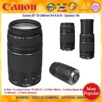 Lensa Canon EF 75-300mm f/4-5.6 III - Lensa Tele Canon Garansi 1th