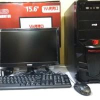 Paket Komputer/Monitor Rakitan Core 2 Duo E8400 3,0G + Intel G31 Ddr2
