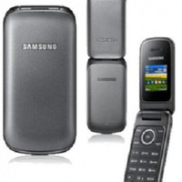 HP second Samsung lipat GT-E1195 hitam - single SIM card