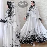 [KOLEKSI RATNA] [Syari Monalisa Ranada White TL] gamis muslim wanita