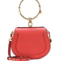 CHLOE SMALL NILE EARTHLY RED LEATHER BRACELET BAG ORIGINAL   TAS CHLOE