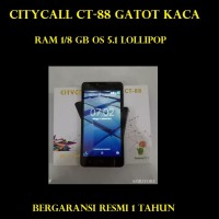 HP ANDROID PROMO CITYCALL GATOTKACA CT-88 RAM 1 ROM8 GB OS 5.1 LOLLIPO