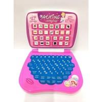 Princess Laptop Mainan Edukatif Anak Perempuan Warna Pink