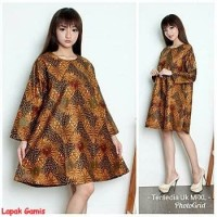 Zafinah Tunik-baju blouse batik-baju terbaru-murah online-fashion-MRC