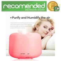 Humidifier Elektrik dengan 7 LED - Putih