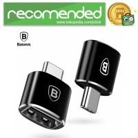 Baseus USB Female to USB Type C OTG Adapter - CATOTG-01 - Hitam