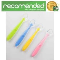 Sendok Bayi Soft Silicone - Multi Warna
