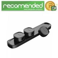 Baseus Magnetic USB Cable Clip Holder - ACWDJ-01 - Hitam