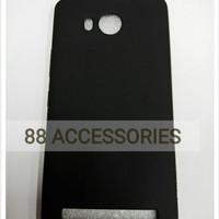 Softcase TPU Black Matte Ultra Slim Cover Case Casing HP Lenovo A7700