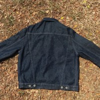 Uniqlo trucker jacket/ levis jacket/ denim jacket merk uniqlo
