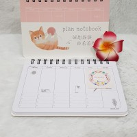 Kitten planner notebook