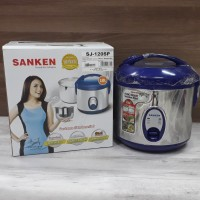 SANKEN MAGIC COM 1 LITER SJ120SP / RICE COOKER SANKEN 1 LITER BIRU