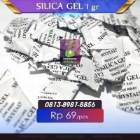 Silica Gel isi 100 pcs Alami natural