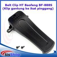 Belt Clip HT Baofeng BF-888S (Klip gantung ke ikat pinggang)