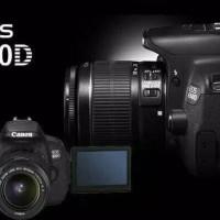 KAMERA CANON EOS 650D kit 18-55 IS / Canon Eos 650D