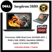 LAPTOP MURAH Dell Inspiron 3180