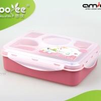 Tempat Makan 5 Sekat   Yooyee Lunch Box   Bento   Kotak Bekal Makan