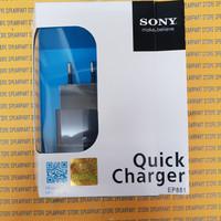 Quick Charger Sony Xperia Z Z1 Z2 Z3 Z4 - M5 EP881 Original 100%