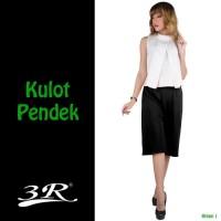 Kulot Pendek - Celana Wanita bahan Scuba Impor - Cullote - Jumbo ready
