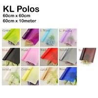 KL Polos (Wrapping Bunga Murah) / 20 LEMBAR