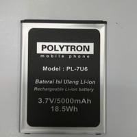 Baterai Polytron Rocket 4G Lte / L501 / PL-7U6 / Ori / battrey hp