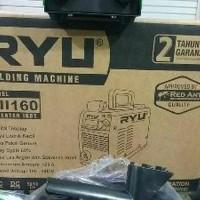mesin las listrik 160A RYU by TEKIRO with AVR bisa pake genset travo