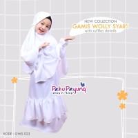 Gamis Wolly Syari GWS 023 Paku Payung