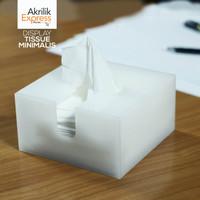 kotak tissue s4 / tempat tissue kotak minimalis / tempat tissue simple